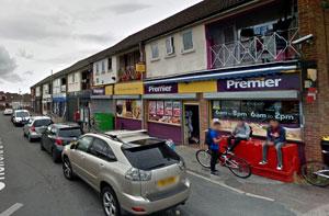 the Chelford Grove shops